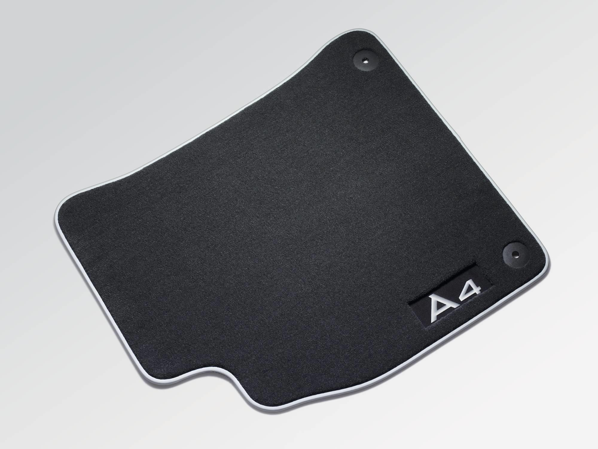 2011 Audi A4 Premium Textile Floor Mats Front Fastening