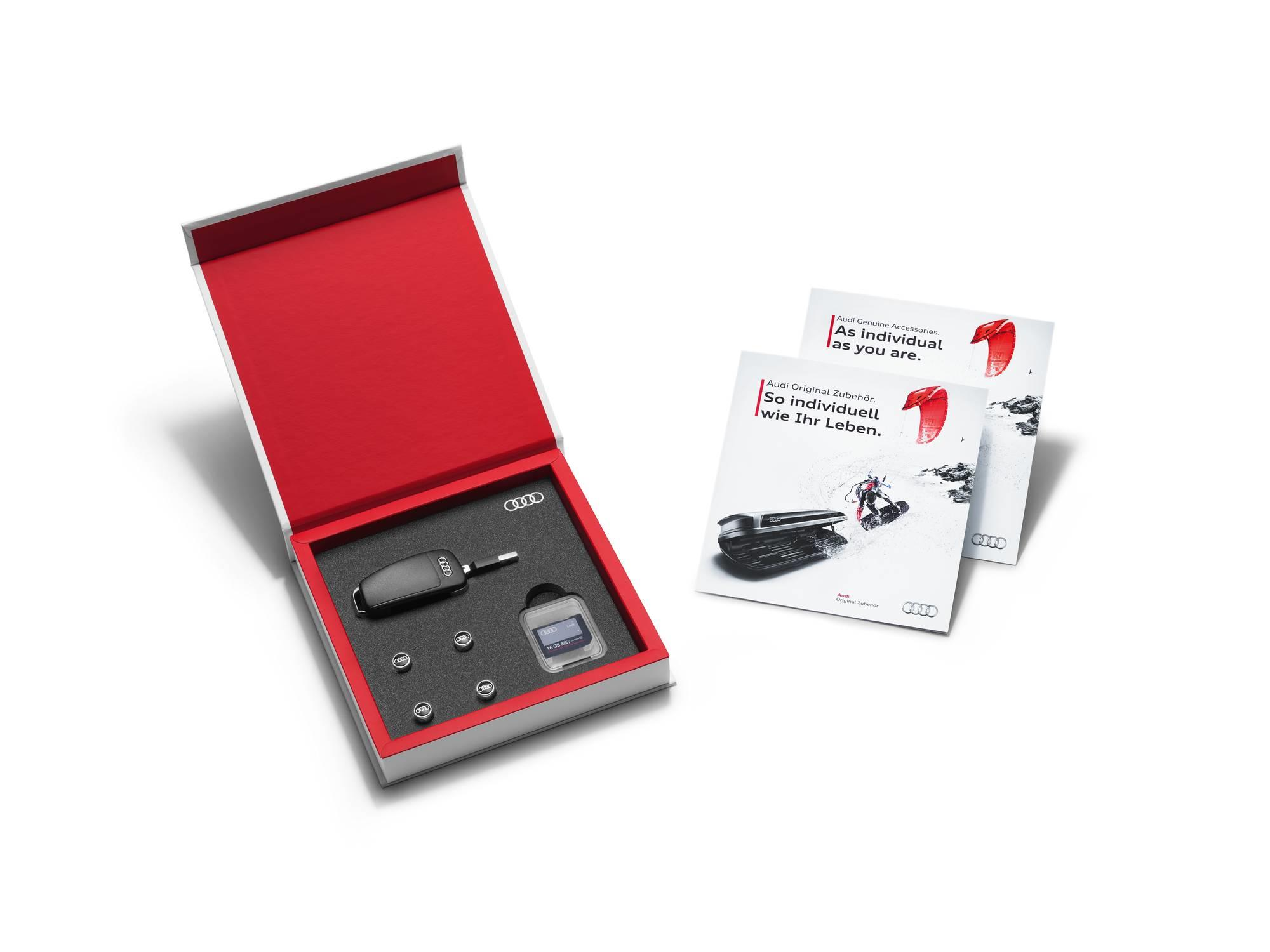 Audi Q5 Accessories Gift Box For Vehicles With Rubber