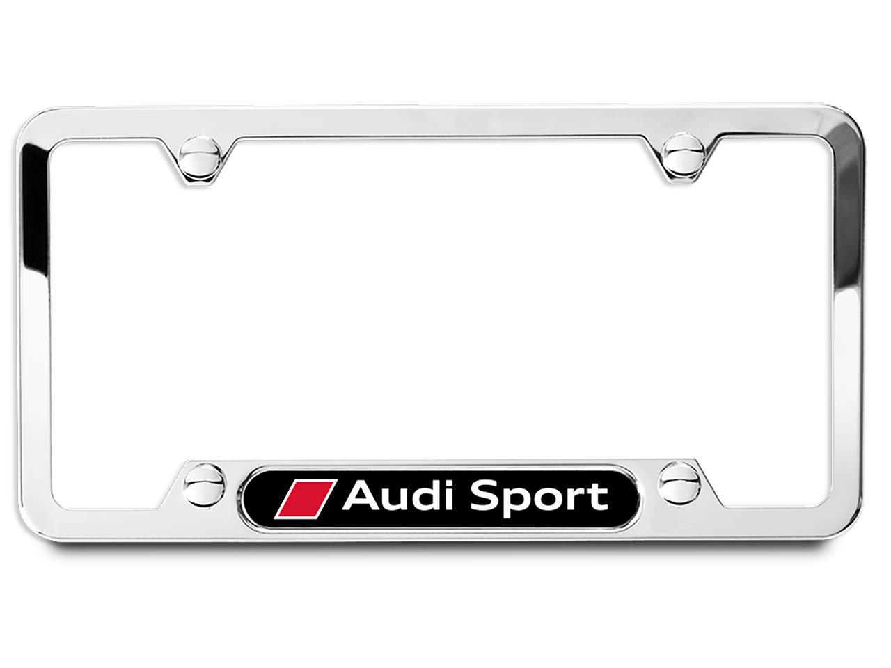 2017 Audi Q7 License Plate Frame With Audi Sport Logo