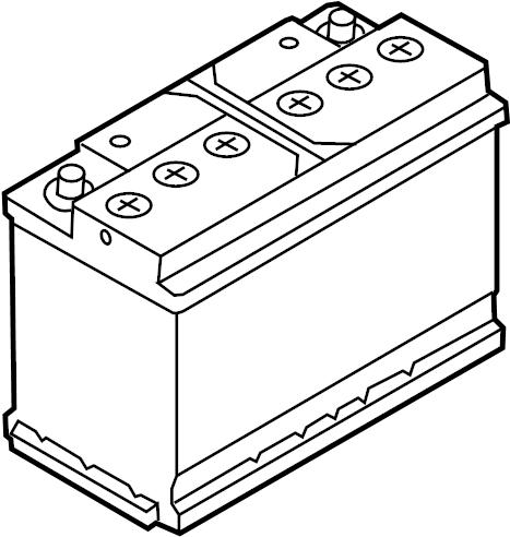 Audi S5 Battery Vehicle Battery Audi Volkswagen Amp